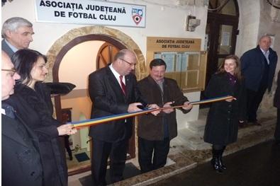 Președinte de Onoare al AJF Cluj - Patrițiu Abrudan