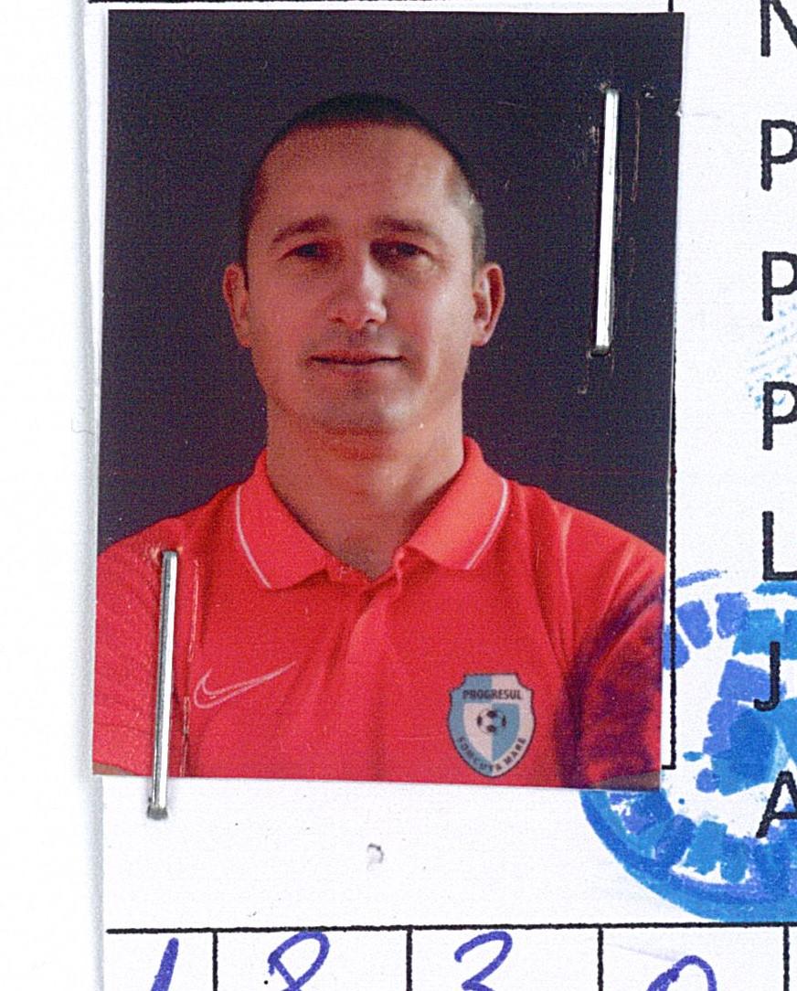 jucatorul Cormoş Adrian Gheorghe