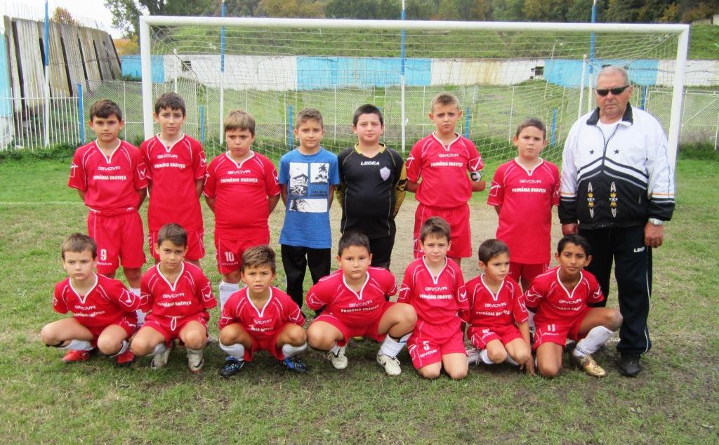 Şcoala de Fotbal Nicolae Chirilă Oraviţa (suspendata prov