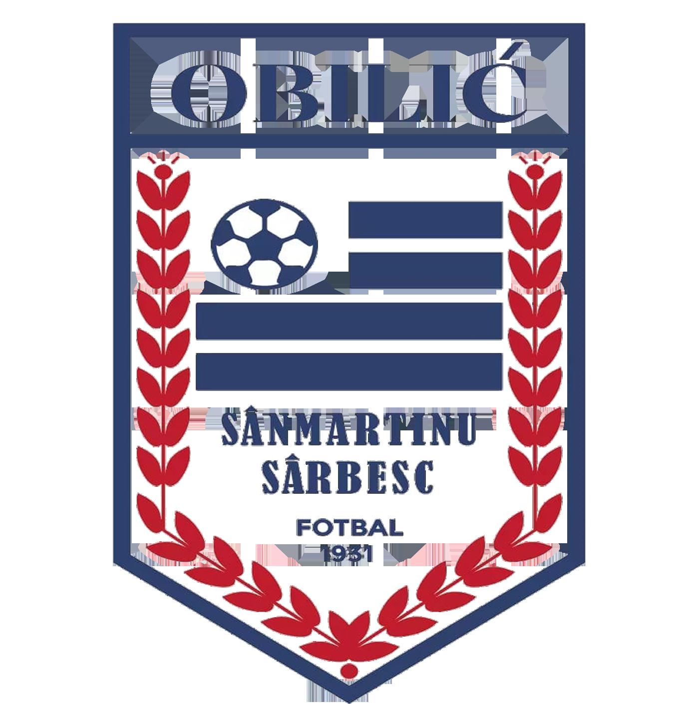 AS Obilic Sanmartinu Sarbesc Fotbal 1931