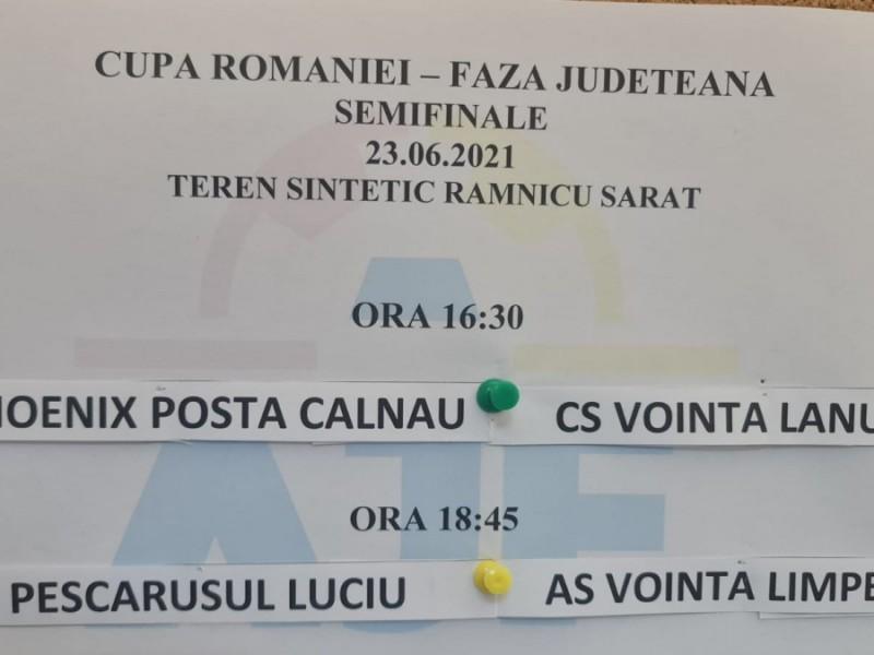 SEMIFINALE CUPA ROMANIEI