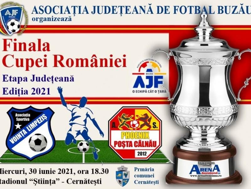 Finala Cupei Romaniei  - faza judeteana