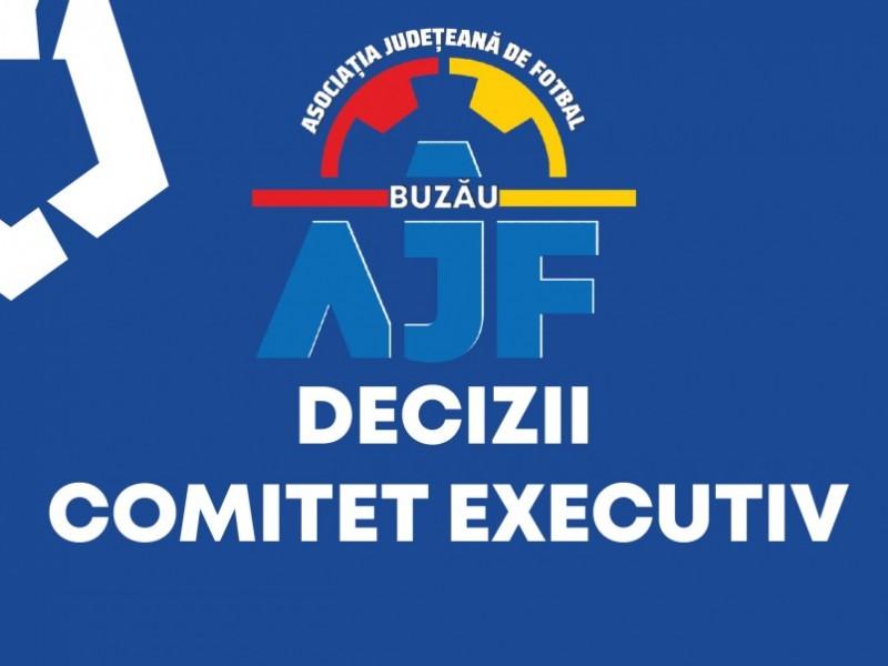 DECIZII COMITETUL EXECUTIV 27IULIE 2021