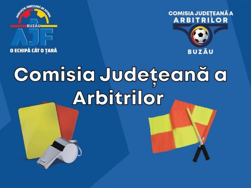 Comisia Județeană a Arbitrilor