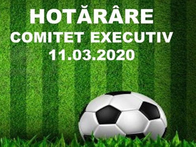 Hotarare Comitet Executiv