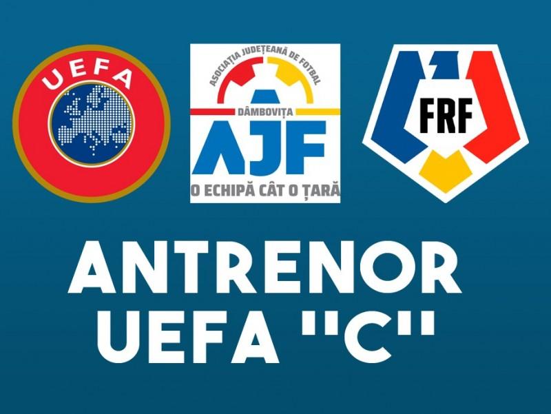 ANUNȚ! Încep cursurile pentru obținerea Licenței UEFA C