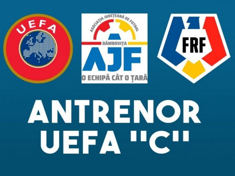 Instructiuni concurs admitere Licenta C UEFA 24.05.2021