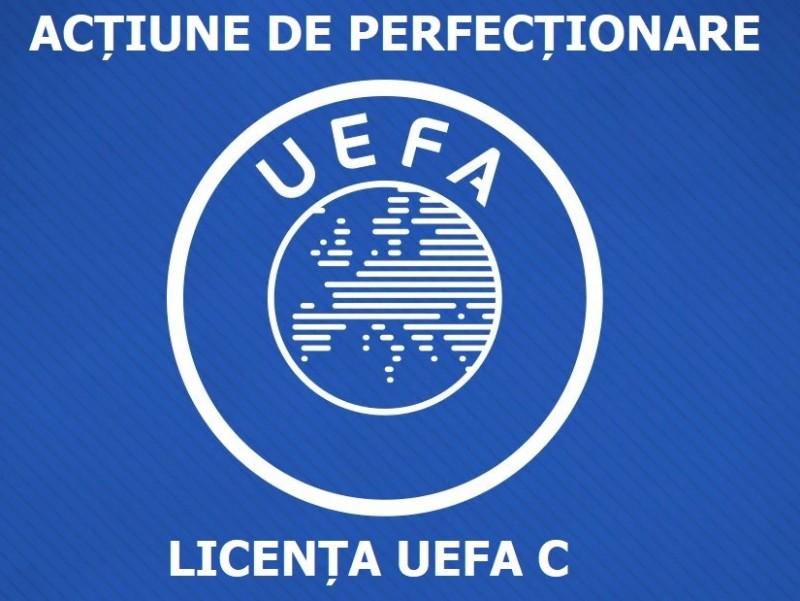 Acțiune de perfecționare și reinnoire pentru posesorii de Licența C UEFA