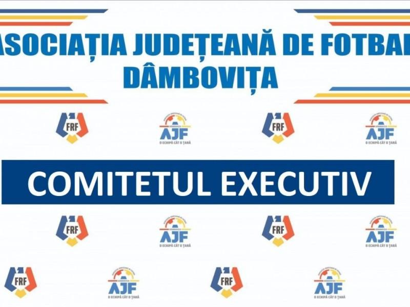 Deciziile Comitetului Executiv din 23.09.2021
