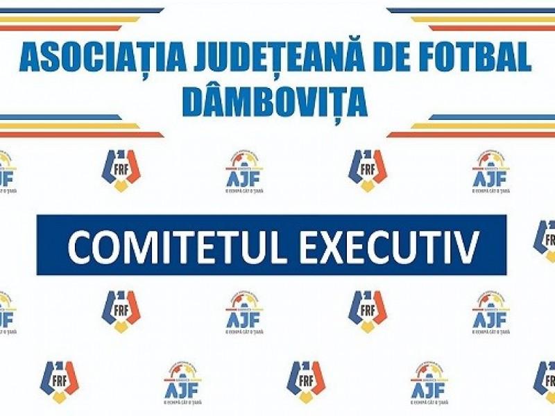 Convocator Comitet Executiv – 22.10.2021
