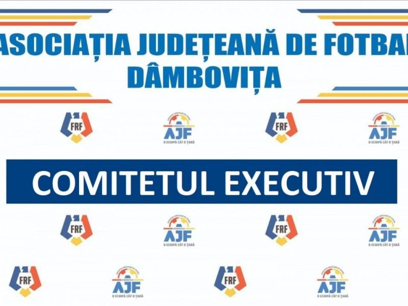 Deciziile Comitetului Executiv din 22.10.2021