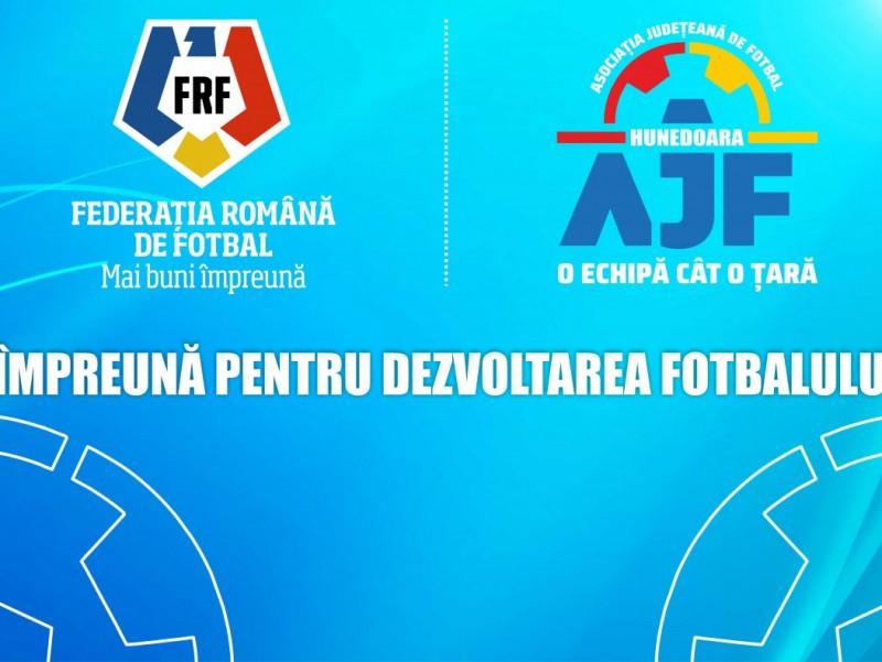 FRF | AJF împreună pentru dezvoltarea fotbalului