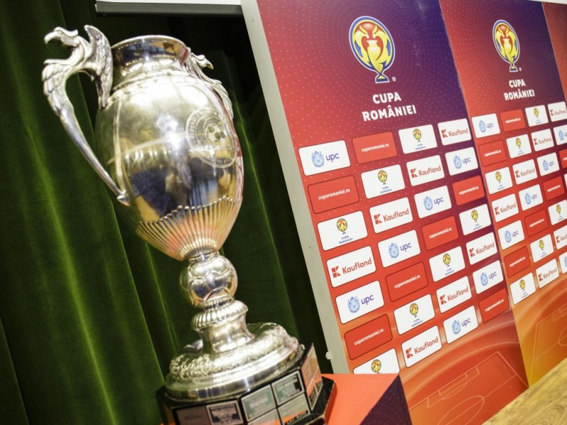 CUPA ROMÂNIEI - Miercuri, tragere la sorți