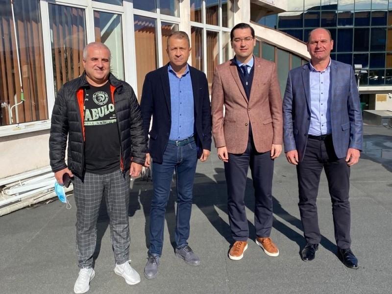Conducerea Federației Române de Fotbal, vizită în Maramureș