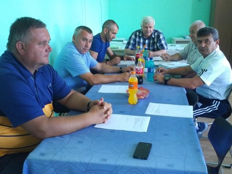 Şedinţa Comitetului Executiv al AJF SM, 12.08.2019