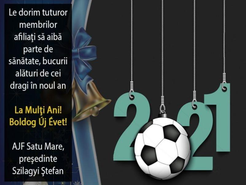 Felicitare AJF Satu Mare