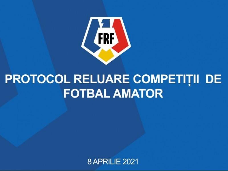 Protocol competitii fotbal amator!