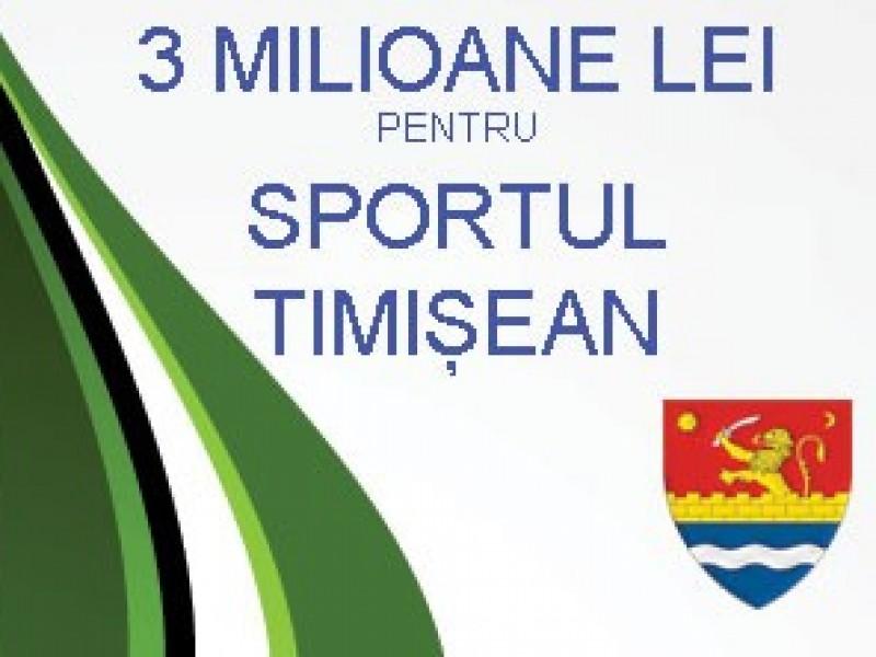 Fonduri neramursabile pentru structurile sportive