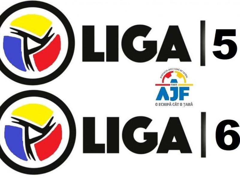 Reluarea competitiilor sportive Liga V, respectiv Liga VI