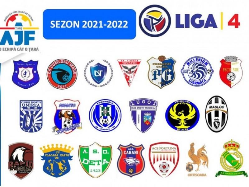 Prezentarea Echipelor înscrise în liga 4 sezon 2021-2022